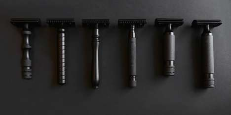 Customizable Safety Razors - West Coast Shaving's Razors Feature Interchangeable Handles and Heads