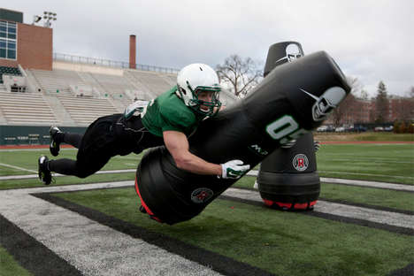 Robotic Tackling Dummies - 'Mobile Virtual Players' Make Football Practice Safer
