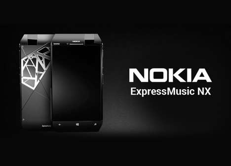 Audiophile-Focused Smartphones - The Nokia XpressMusic NX Smartphone Focuses on Music and Sound