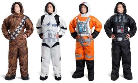 Intergalactic Cosplay Sleeping Bags - The Selk'bag Star Wars Hero Sleeping Bags are Warm and Playful