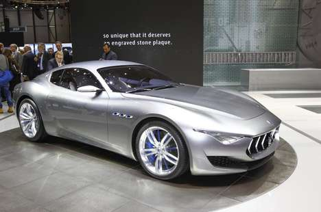 Electric Luxury Sports Cars - The Maserati Alfieri will Feature an All-Electric Chassis Over Gas