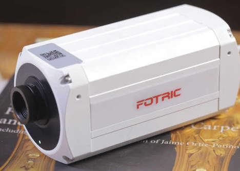 Fire-Detecting Security Cameras - The 'Fotric 123' Thermal Camera Detects Heat and Sends Fire Alerts