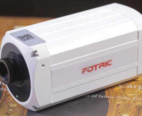 Fire-Detecting Security Cameras