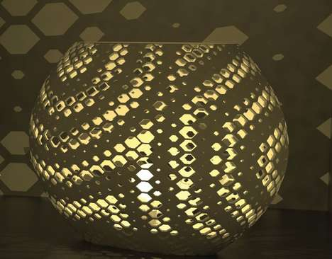AI-Designed Lamps - The Raygon Sphere Lamp is the Design Work of an Artificial Intelligence System