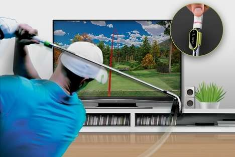 In-Home Golf Simulators - The 'Tittle X' Golf Simulator Lets Users Play Without Hitting Balls