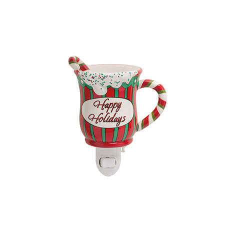 Aromatic Novelty Wall Plugs - This Scent Warmer from Scentsy Takes the Shape of a Festive Mug