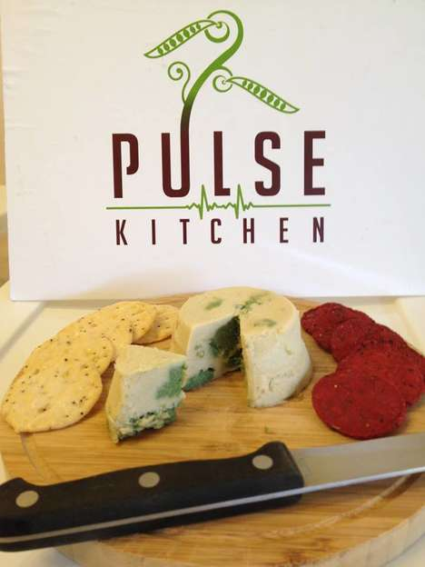 Nut-Based Blue Cheeses - Pulse Kitchen's Dairy-Free Vegan Cheese Imitates a Classic French Cheese