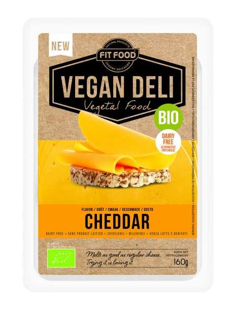 "Dairy-Free Cheese Slices - LINCK's Vegan Plant-Based Cheese Boasts ""0% Meat"""