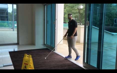 Object-Detecting Canes - The 'mySmartCane' Walking Stick Guides the Visually Impaired