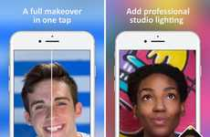 Digital Makeover Selfie Apps