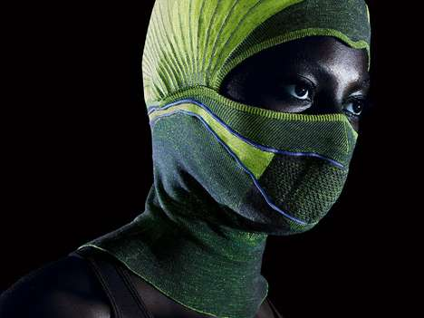 Air-Warming Balaclavas - This Winter Balaclava Heats the Air Before the Wearer Breathes it in