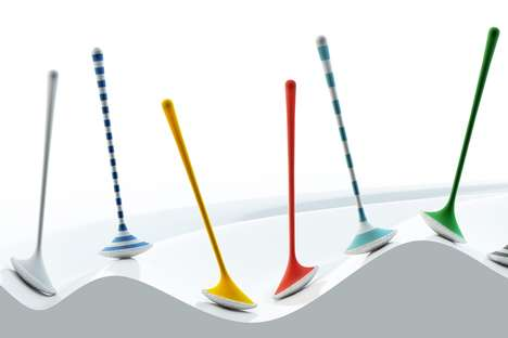 Contouring Toilet Brushes - The 'Yosh' Toilet Cleaning Brush Contours to the Shape of the Bowl