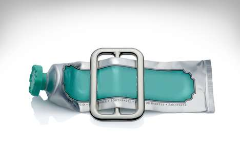 Stylish Toothpaste Squeezers - The Alessi 'Buckle' Tube Squeezer is Made from High-Grade Materials