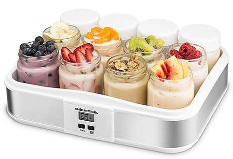 DIY Yogurt-Making Appliances - The Gourmia Digital Yogurt Maker Makes Yogurt Making Economical