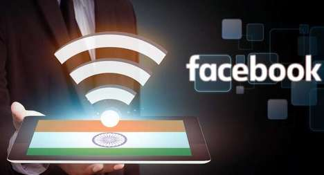 Social Media WiFi Services - The Facebook 'Express WiFi' Service will Launch in Rural India