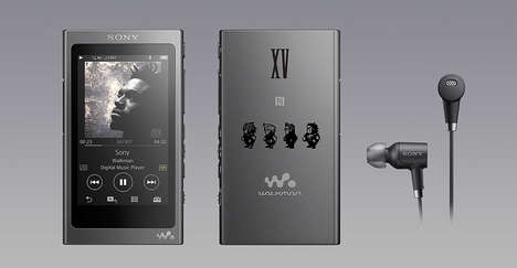 Game-Themed Music Players - Sony Created a 'Final Fantasy XV' Walkman, Headphones and Speaker