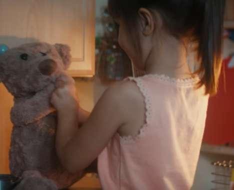 Emotional Teddy Bear Holiday Ads