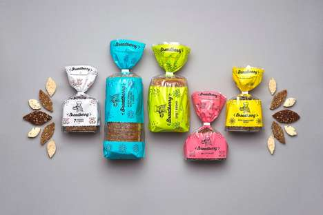 Vibrant Seed-Packed Breads - This Bread Branding Touts the Flavors of Its Contents