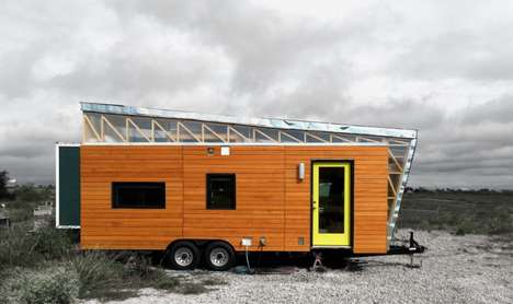 Mini House Homeshare Promotions - The Kinetohaus Airbnb Rental Provides a Taste of Tiny House Living