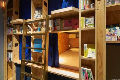 Bookstore-Themed Hostels - The 'Book and Bed' Hotel Has a New Location in Kyoto, Japan