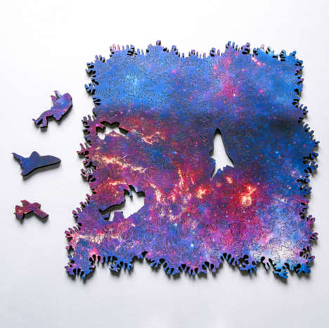 Infinite Astronomical Puzzles - This Galaxy Puzzle Has Thousands of Potential Configurations