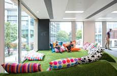 Lounge-Focused Office Interiors - This Relaxing Office Design Was Won Through a Competition