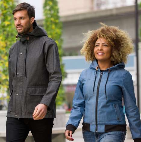 Compact Weather-Proof Jackets - These Jackets Can Be Easily Packed into Suitcases and Backpacks
