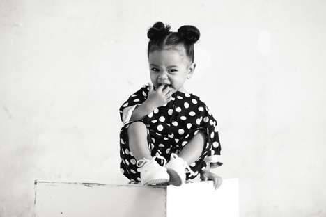 Expandable Children's Clothing - The Stylish Kids Clothing Brand is Completely Monochrome