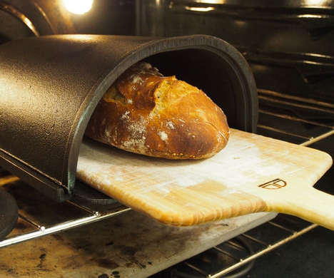 Domestic Oven Bread Makers - The Fourneau Bread Oven Converts a Regular Oven to Make Perfect Loaves