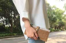 Sustainable Paper Accessories - CulCreat's Unique Products Utilize Durable Washed Kraft Paper