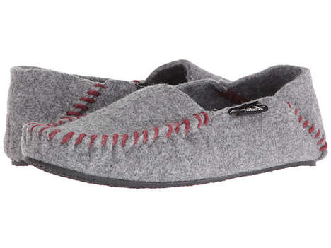 American-Made Wool Slippers - The Woolrich Felt Slippers Provide Warmth and Durability