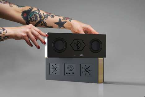 Customized DIY Speakers - The 'OBE' Custom Speaker is Suited for Specific Audio Preferences