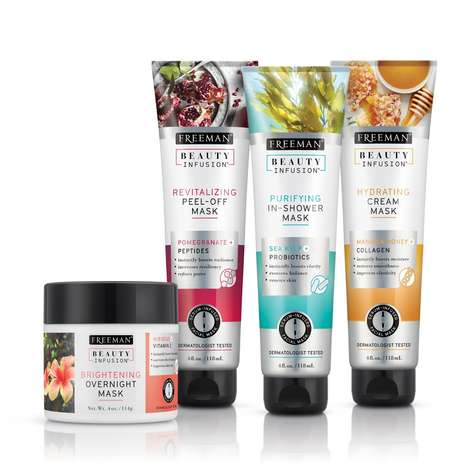 Serum-Infused Face Masks - These Face Masks Were Designed to Offer an Array of Skin Benefits