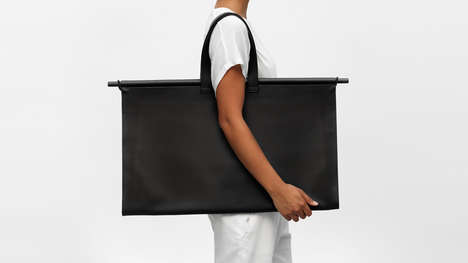 Minimalist Architect-Focused Carriers - 'The Atelier YUL' Designed Bags to Hold Models and Papers