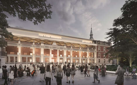 Historic Museum Renovations - Planners will Incorporate Modern Architecture into the Museo del Prado