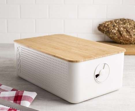 Bread-Freshening Box Containers - The Bodum Bistro Bread Box Prevents Baked Goods from Going Stale