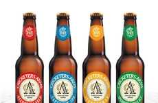 Cricket-Inspired Beer Branding - The 'Cricketers Arms' Beer Was Designed to Promote Camaraderie