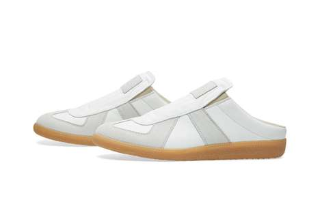 High-Fashion Sneaker Slippers - The Maison Margiela 22 Replica Mule Low are Comfortably Chic