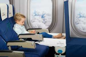 The Jet Kids 'BedBox' Kid's Bag Makes an Airplane Seat into a Bed