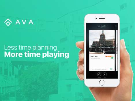 Adventurer Exploration Apps - The 'AVA' App Fills Free Time with Spontaneous Adventures