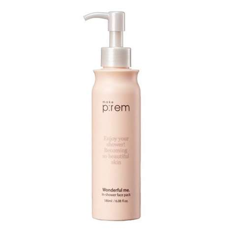 In-Shower Face Masks - This Cleansing Face Mask by 'Make P:rem' is Meant to Be Used in the Shower
