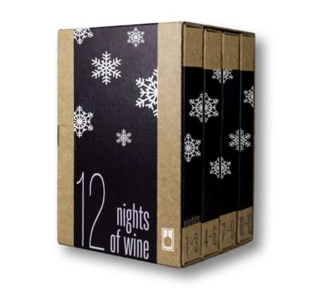 Single-Serve Wine Advent Calendars - VineBox's Wine Advent Calendar Provides By-the-Glass Samples