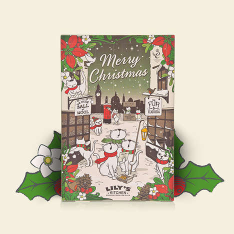 Pet-Friendly Advent Calendars - Lily's Kitchen Makes Holiday Advent Calendars Filled with Pet Treats
