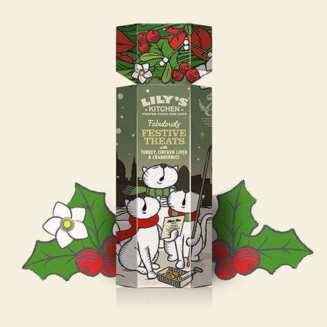 Festive Pet Food Products - These Holiday Pet Food Products Play Up Turkey and Cranberry Flavors