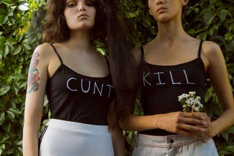 Non-Materialistic Streetwear - The New ZDDZ Series Flaunts Statement Anti-Consumerist Slogans