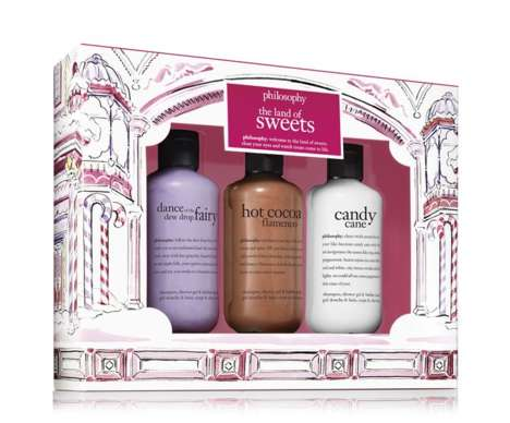 Wintry Shower Cosmetic Sets - The 'Philosophy' Skin Care Brand is Offering Holiday Gift Sets