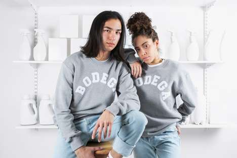 Minimalist Fleece Apparel - This High-Quality Fleece Line from Bodega is Perfect for the Holidays