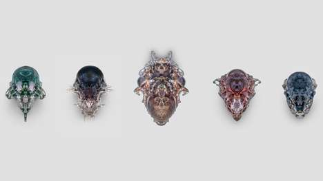 3D-Printed Death Masks - Neri Oxman's 'The Vespers' Revives an Ancient Mystic Practice