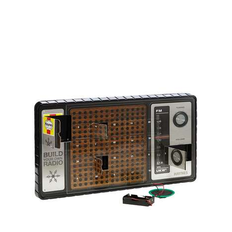 Electronics Advent Calendars - This Kit Supplies All the Pieces Needed to Make a Retro DIY Radio