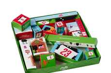 Stationary Christmas Countdowns - This Tinc Advent Calendar Supplies Christmas Stationery Surprises